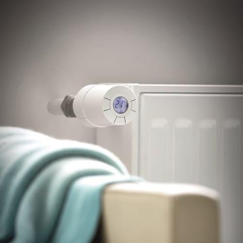 Die Heizungssteuerung mit Danfoss Link ist drahtlos und flexibel