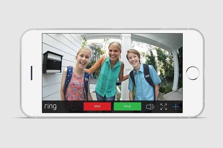 Die Ring Doorbell App gibt es für iOS und Android Betriebssysteme