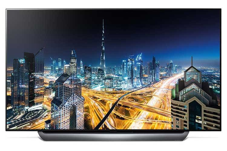 Der 55 Zoll OLED TV LG OLED55C8 beherrscht u. a. dynamisches HDR sowie Dolby Atmos