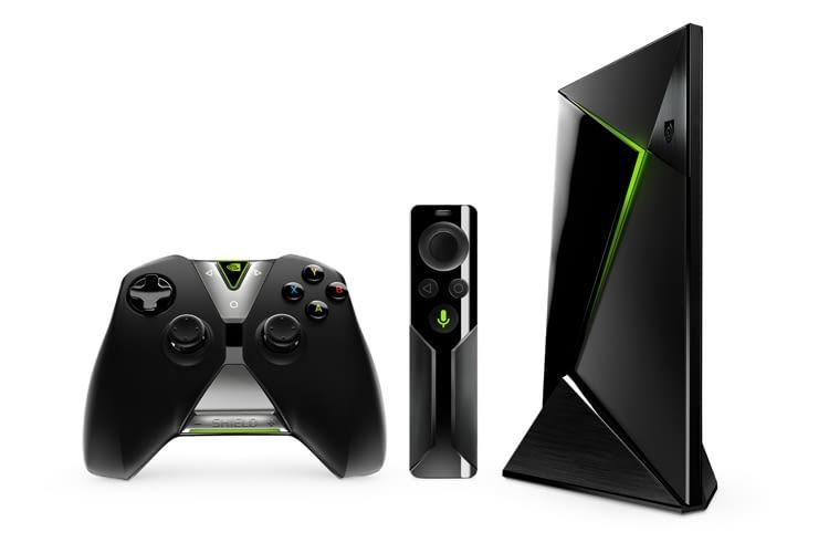 Gaming-Power im Kleinformat: Mit NVIDIA Shield TV kommen echte PC-Games auf den Fernseher