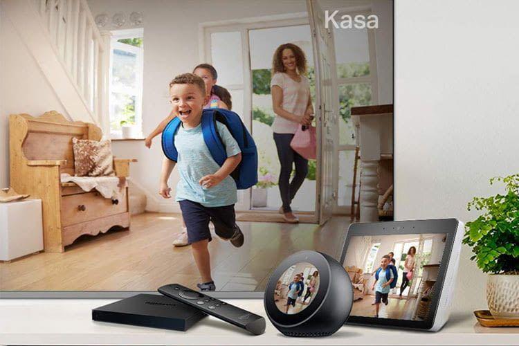 Auf Zuruf kann KC120 Live-Videos z.B. auf ein Echo Show Display streamen