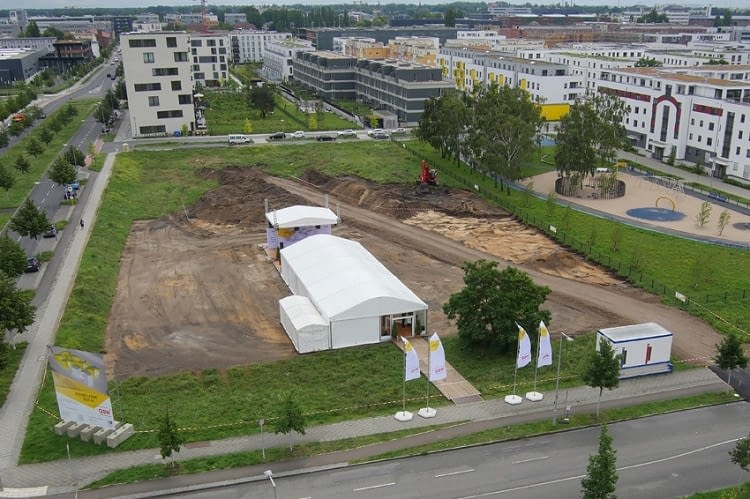 Spatenstich zum Projekt Future Living in Berlin Adlershof