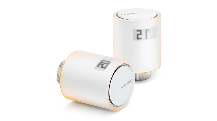 Dieses edle Heizkörperthermostat stammt von Netatmo