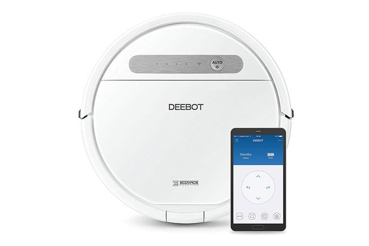 Mit der ECOVAC Home App lässt sich der Deebot Ozmo 610 auch aus der Ferne steuern