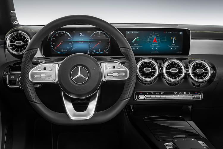 Die Mercedes MBUX LINGUATRONIC Technologie dient als Sprachassistent und versteht auch indirekte Bezüge