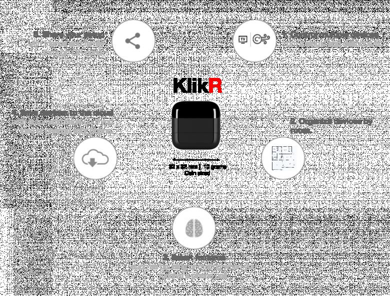 KlikR companion für unterschiedliche Einsatzzwecke