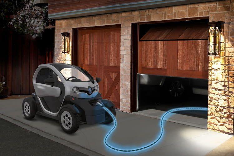 Das E-Auto Twizy von Renault hat ein futuristisches Design