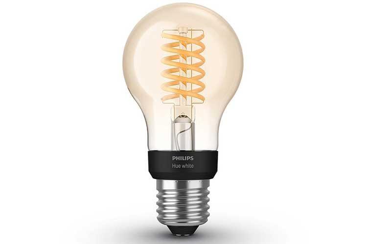 Die Philips Hue White Filament Leuchte unterstützt Bluetooth, basiert aber auch auf dem ZigBee Standard
