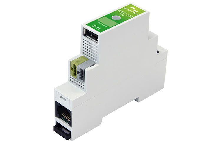 So sieht ein digitalSTROM Server aus, der später zum Herzstück des Smart Home wird