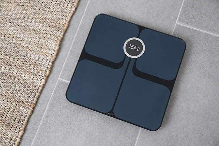 WLAN Waage Fitbit Aria 2 ist bis zu 180 kg belastbar