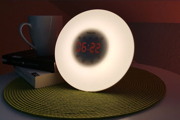Markengerät zum Einsteigerpreis: der Philips HF3505/01 Wake-up Light Lichtwecker