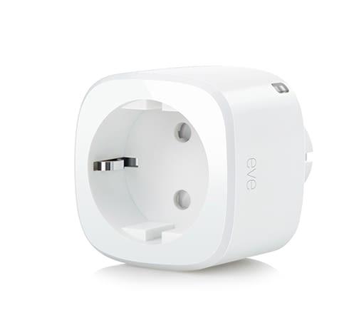 Mit Elgato Eve Energy lassen sich Geräte per iPhone fernsteuern und Informationen über den Stromverbrauch erhalten
