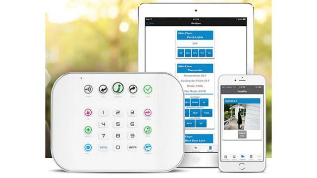 Abbildung des ZeroWire Smart Home Hub - Alarmanlage
