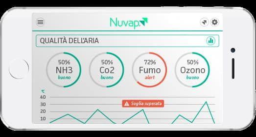 Nuvap N1 und Nuvap N1R Smartphone App