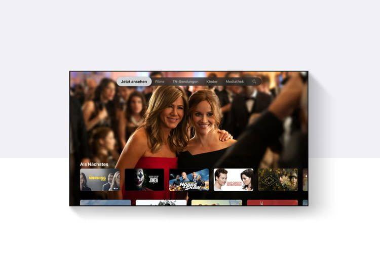 Das Interface des Apple TV 4K ist ausgesprochen übersichtlich und einfach zu navigieren