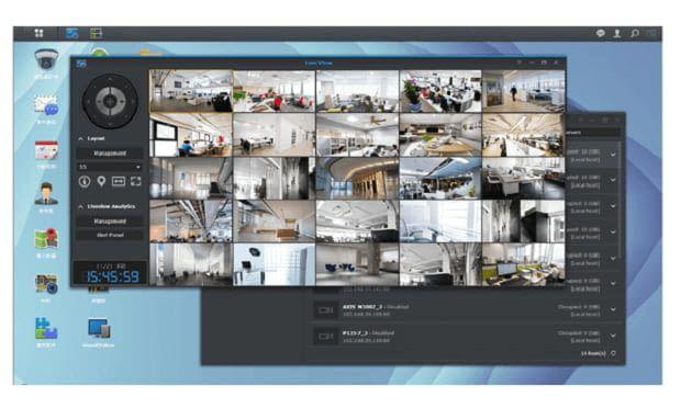 Mit der Kamera von synology das Smart Home überwachen