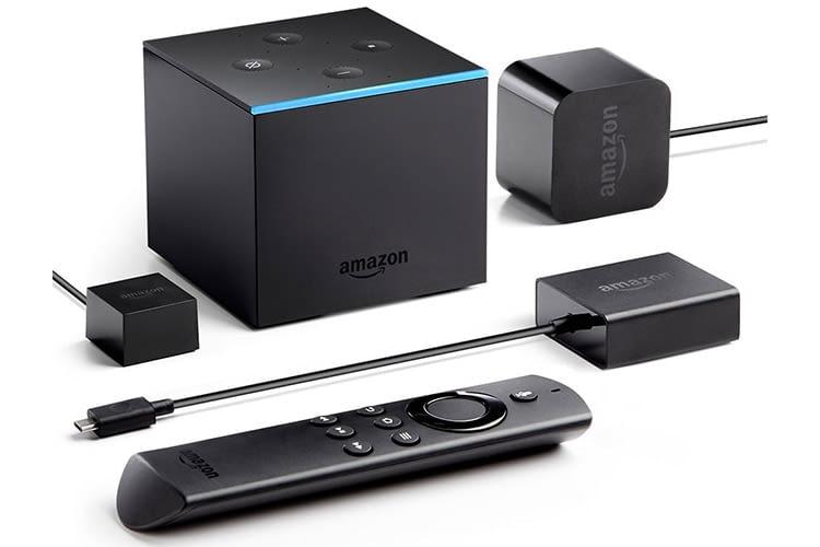 Amazon Fire TV Cube kommt mit Fernbedienung, Netzteil und Ethernet-Adapter