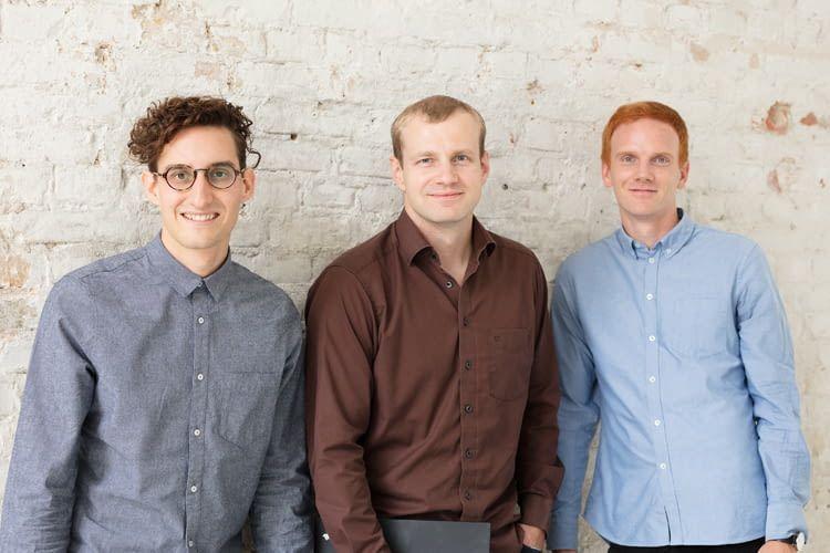 Hier zu sehen: Die Gründer von Solvemate