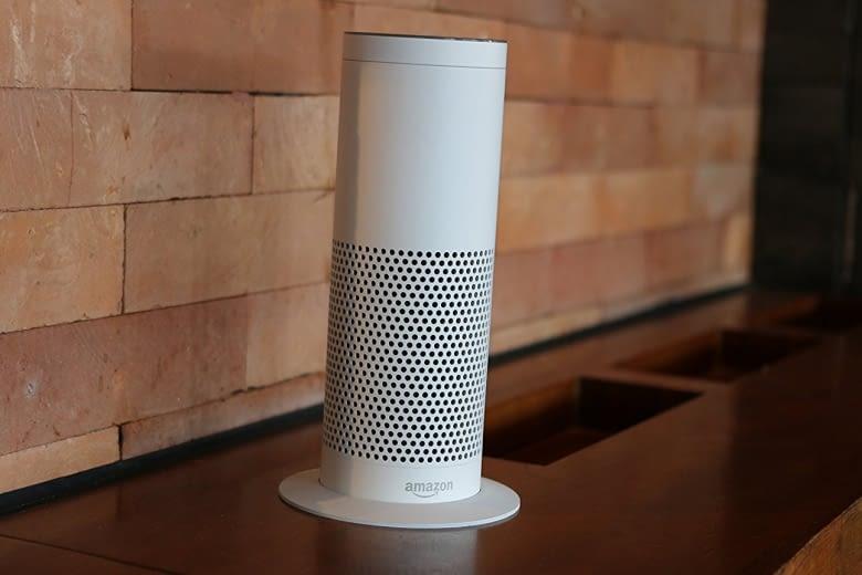 Mehr Standfestigkeit für Amazon Echo: Der Sockel von Soundbass hilft