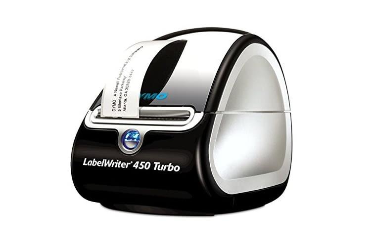 Dymo LabelWriter 450 Turbo enthält die DYMO Label v.8-Software mit mehr als 100 Etikettenstilen und Layouts