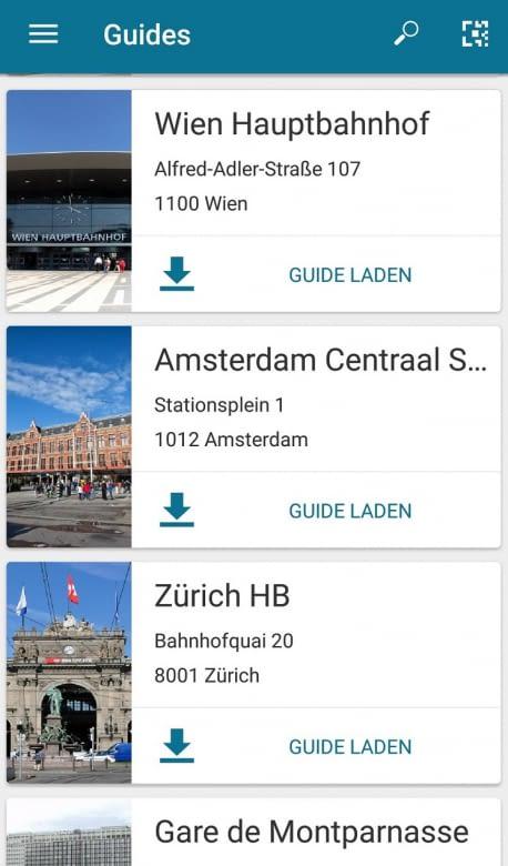 Die Anwendung wird ständig weiterentwickelt, auch Locations kommen immer neue hinzu