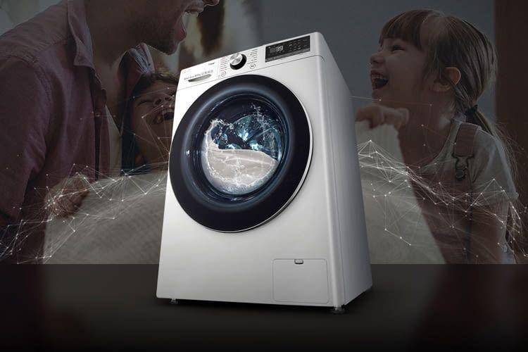Smarte Waschmaschinen kommunizieren per App mit ihrem Besitzer