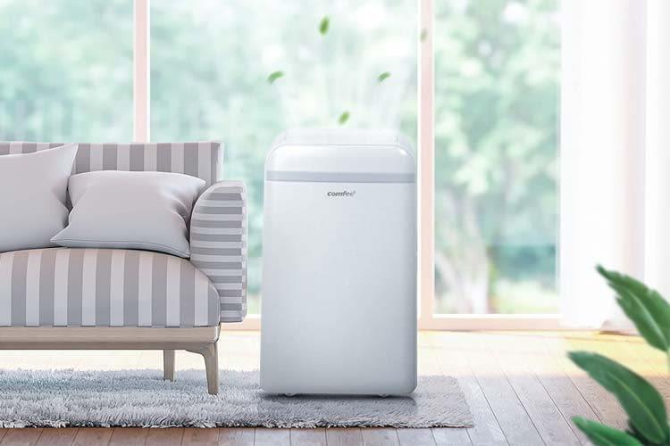 Die meisten mobilen Klimaanlagen für Zuhause sind in dezentem Weiß gehalten
