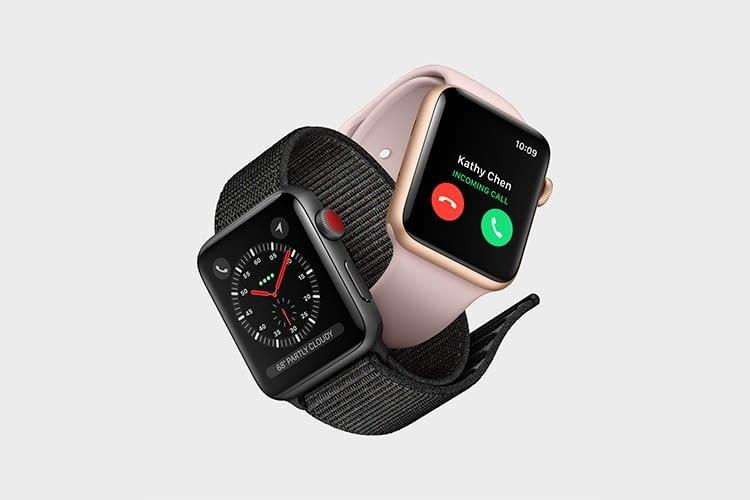 Die Apple Watch 3 überzeugt durch ein hervorragendes Preis-Leistungsverhältnis