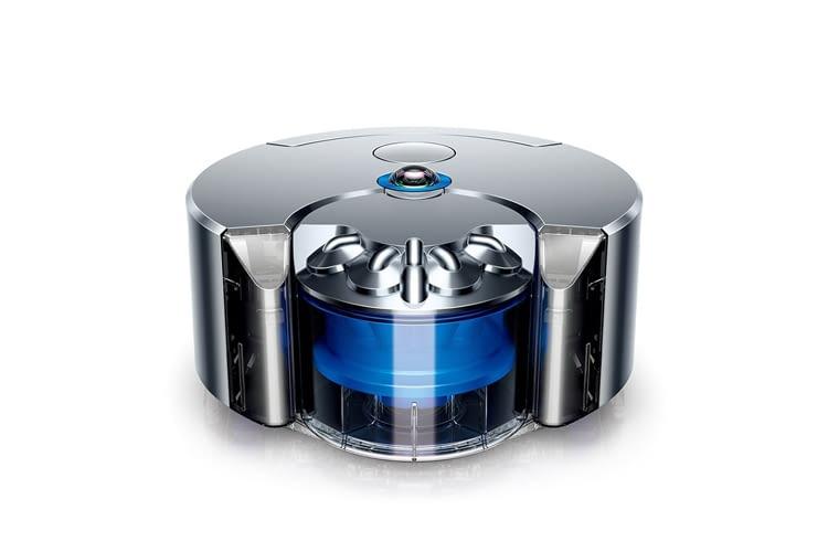 Der Dyson 360 Eye Saugroboter hebt sich vor allem durch die ungewöhnliche Ausstattung von anderen ab