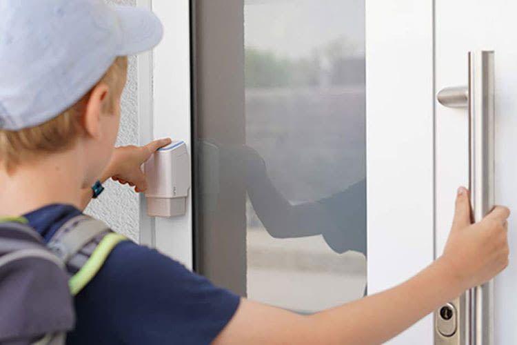Dank Fingerprint Türöffner müssen Kinder nicht mehr an den Schlüssel denken