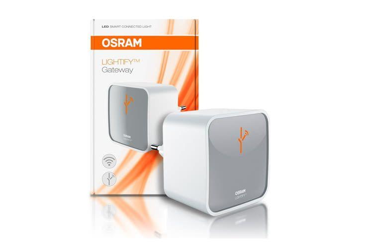 Das OSRAM LIGHTIFY Gateway verbindet bis zu 50 Leuchten miteinander
