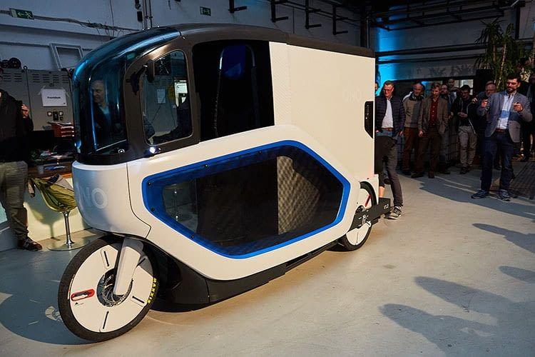 Erster gebauter Prototyp des ONO E-Cargobikes