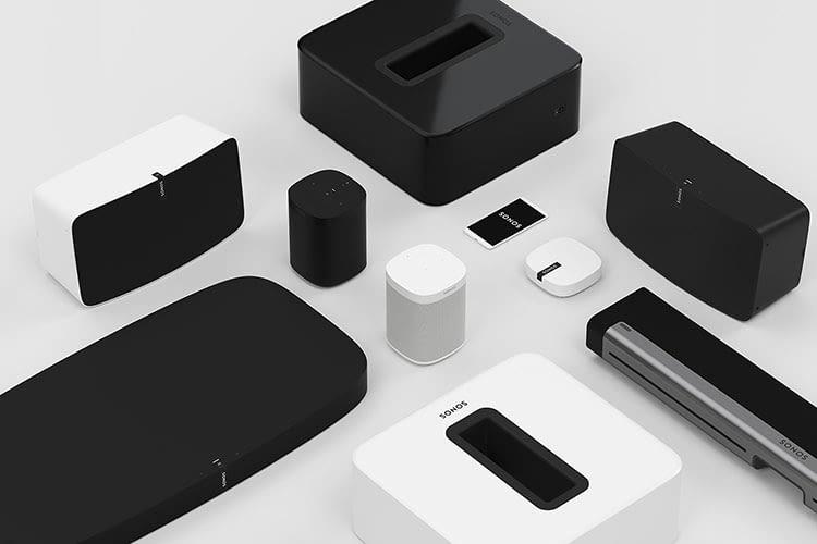 Mit verschiedenen Sonos WLAN Lautsprechern lässt sich ein Multiroom System erstellen
