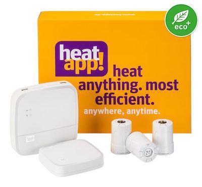 heatapp! Smart Home Starter-Set für die Heizungssteuerung