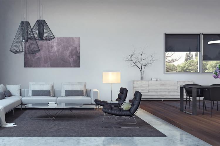Jalousien schützen den Wohnraum vor nächtlichem Energieverlust