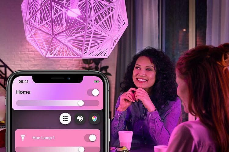 Mieter können Lichter im Zuhause einfach intelligent steuern ohne Kabel verlegen zu müssen