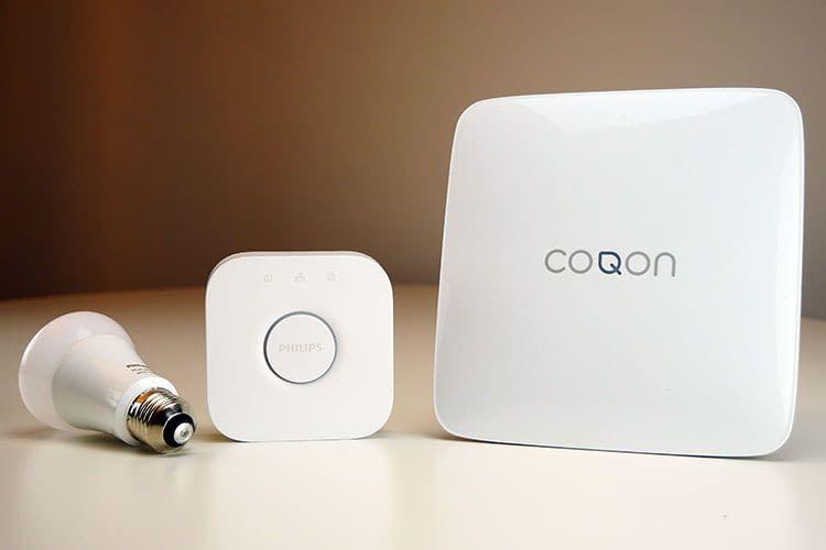 Das Philips Hue Lichtsystem ließ sich mühelos in das COQON Smart Home System einbinden