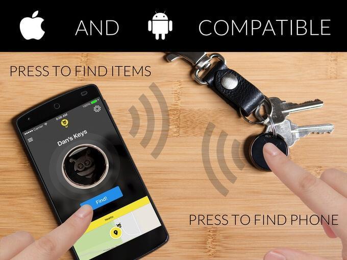 Pebblebee Finder mit iOS und Android App