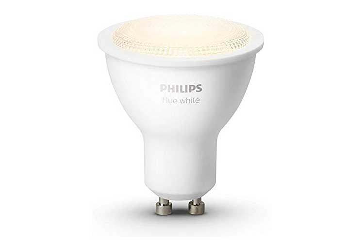 Die Reflektorleuchten White GU10 ermöglichen auch den Anschluss von LED Spots an das Philips Hue Lichtsystem