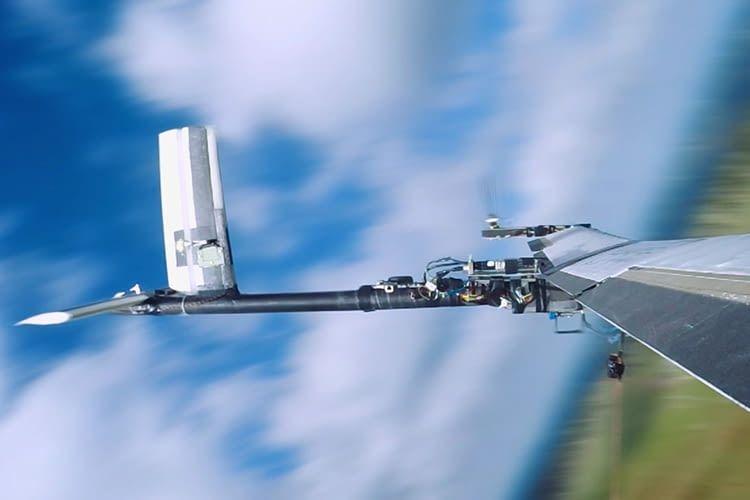 Die Energiedrohne erreicht im Einsatz eine Höhe von bis zu 300 Metern