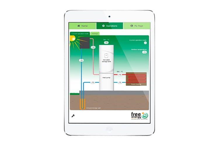 Die HYSS-Software zeichnet den Energieverbrauch in Echtzeit und langfristig auf