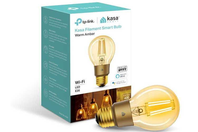 Die TP-Link Kasa Smart Filament Leuchte ist IFTTT kompatibel