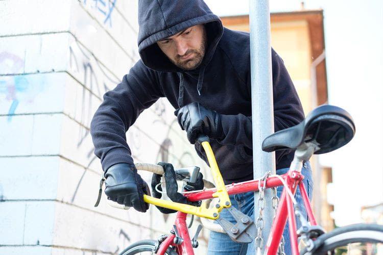 Ist ein Fahrrad erst einmal geknackt und gestohlen worden, besteht kaum eine Chance zur Wiederbeschaffung