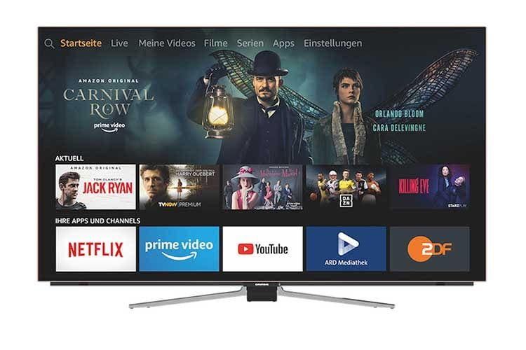 Grundig OLED Fire TV: Amazon und Grundig haben die Fernseher-Welt wieder etwas smarter gemacht