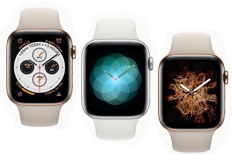 Extravaganz in jeder Hinsicht, auch was die neuen Animationen angeht: Apple Watch 4