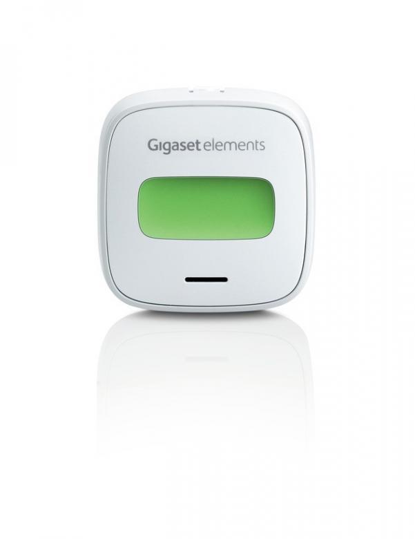 Gigaset elements button - der Funktaster für das elements Smart-Home-System