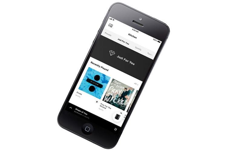 Die Bedienung des Bose Home Speaker 500 erfolgt über die Bose Music App