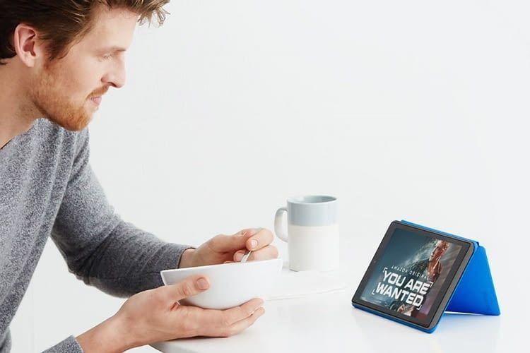 Das Fire Tablet 7 kann bis zu acht Stunden am Stück benutzt werden