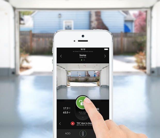 Das Bild der GoGogate Überwachungskamera lässt sich per App einsehen