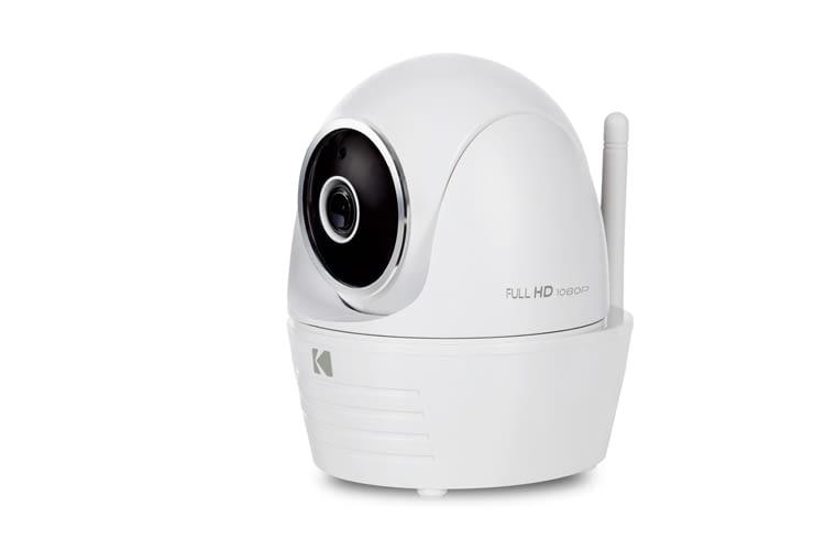 Die Kodak IP101WG ist eine wasserfest IP-Kamera für den Einsatz drinnen und draußen